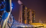 Jeden z nejznmjch hotel svta  Marina Bay Sands Hotel