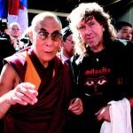 Rudolf Svaricek - foto s dalajlamou