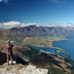Vitek Prochazka - Ben_Lommond Pohled na Queenstown a Wakatipu