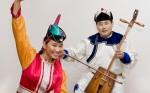 Mongolstvi hudebnici a tanecnice