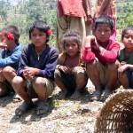 TOMAS BERANEK - NEPAL - Chudé_nepálské_děti