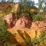 Chmelarova - Okrové lomy v Roussillonu
