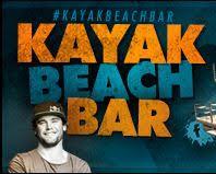 kayak beach bar, vyrez