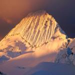 Libor Dusek - 19 Alpamayo při západu slunce