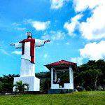 Zuzana Habanova - 08 Socha Krista  na ostrově Siau