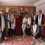 JIRI SAZEL - Audience dobrovonlíků u Dalajlámy