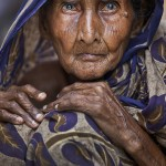 Shomi Jan, over 100 years old, is inhabitant of chars in northern Bangladesh.