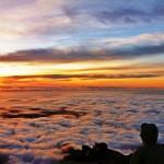 Jana Halaszova - novy zeland - Tower Saddle - pohled na Tasman Sea - Nový Zéland