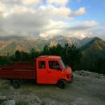 IMG_7602; hory; sever; cesta z Boge do Thethi;  Albania