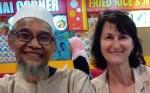 Dagmar Frankova - Malajsie - Obed_s_kucharem2