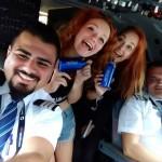Miky Skoda - v letadle