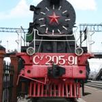 Ina Pisova - Vlak transsibu_sovětský typ