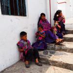 Eva Kubatova - mexiko - Každá vesnice nosí oděv ve svých tradičních barvách
