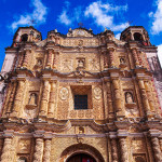 Eva Kubatova - mexiko - Koloniální San Cristóbal de las Casas a jeho katedrála ve stylu indiánského baroka