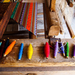 Eva Kubatova - mexiko - V Chiapasu dodnes barví látky postaru