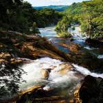 Eva Kubatova - mexiko - Vodopád Agua Azul