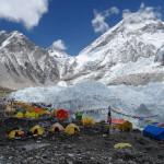 Veronika Marcikova - everest - Základní tábor Everestu