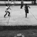 Vesnický volejbal, Malacatos, Ekvádor, Black & White do tisku
