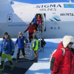 03 První kroky na ledovcích Antarktidy. Foto Martin Chvoj
