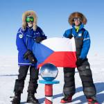 11 Konečně na jižním pólu. Foto Martin Chvoj